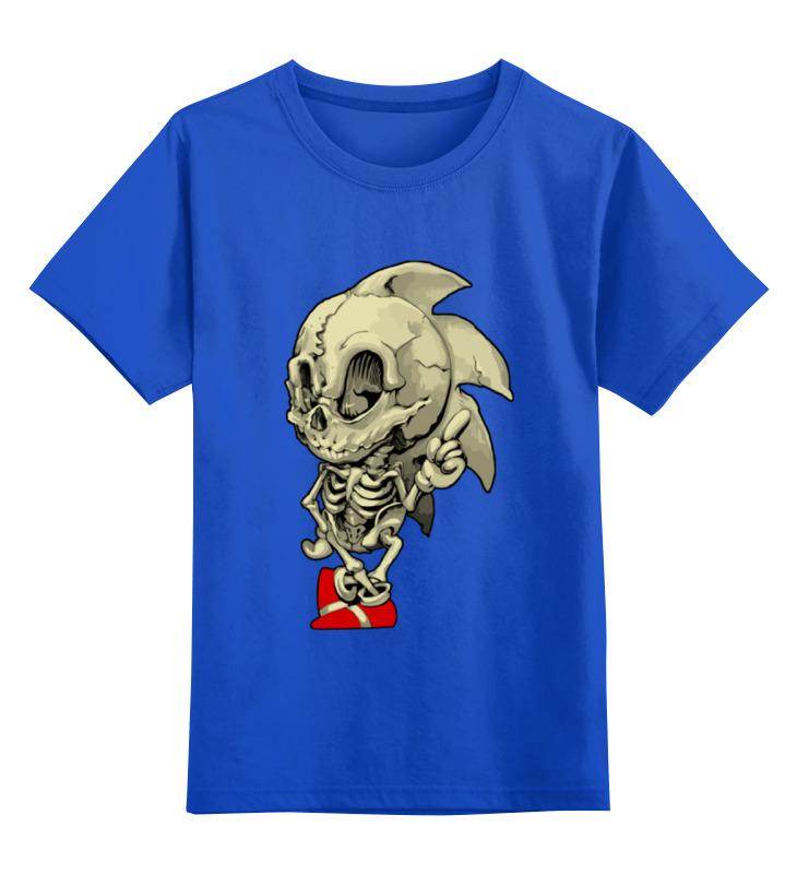 Детская футболка классическая унисекс Printio Sonic skeleton футболка классическая printio sonic unleashed
