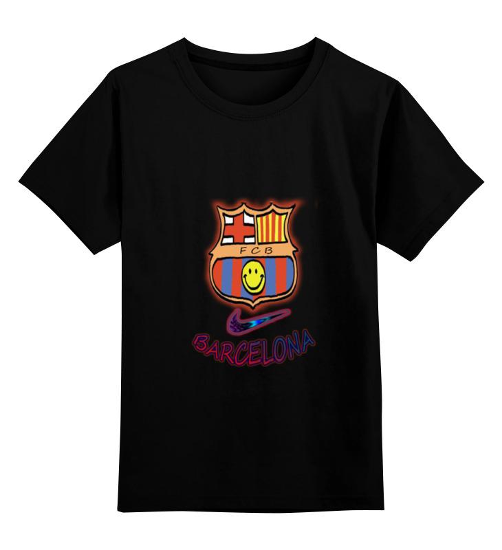 Детская футболка классическая унисекс Printio Cesare-fc batcelona 15 толстовка детская jnby by jnby 1f123304 15 jnbybyjnby