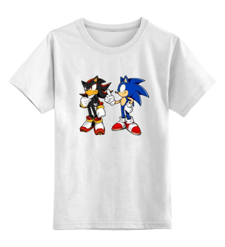 Детская футболка классическая унисекс Printio Shadow sonic футболка классическая printio sonic dance
