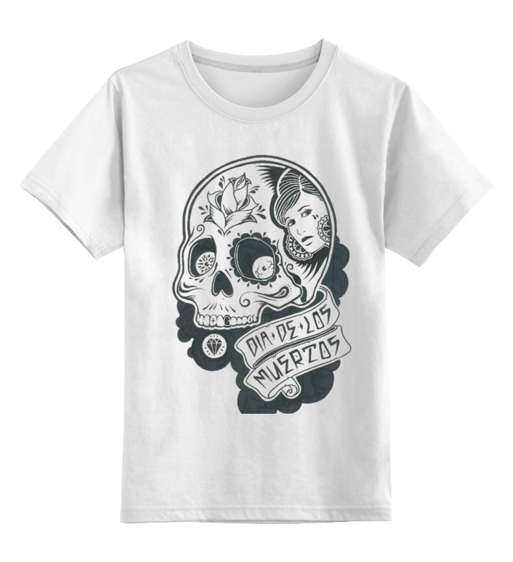 Детская футболка классическая унисекс Printio День мертвых в мексике детская футболка классическая унисекс printio день программиста