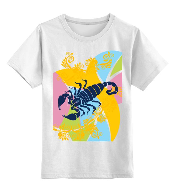 Детская футболка классическая унисекс Printio scorpio переключатель поворотов ford scorpio 89 93