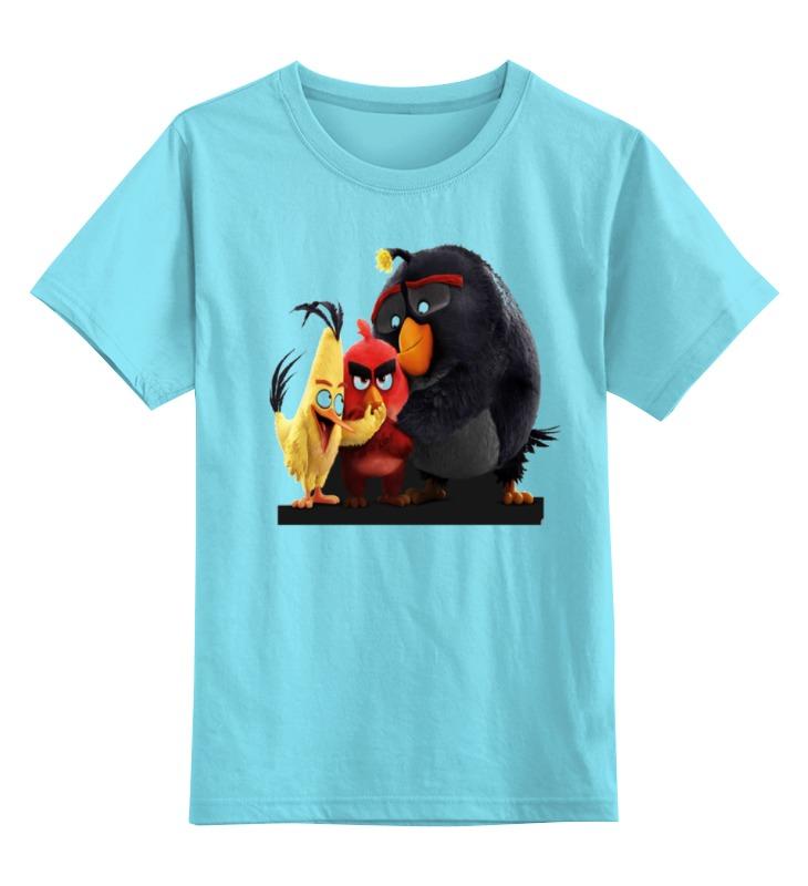 Детская футболка классическая унисекс Printio Сердитые птички angry birds игра детская сердитые птички дартс мяч лизун в наборе