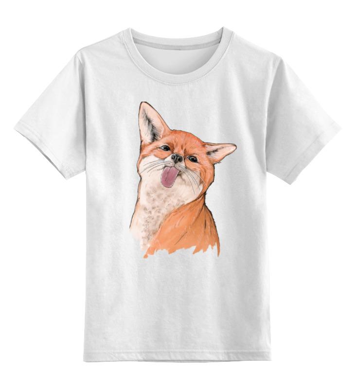 Детская футболка классическая унисекс Printio Вредная лисичка детская футболка классическая унисекс printio мачете