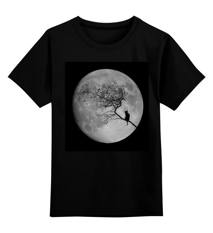 Детская футболка классическая унисекс Printio Лунная ночь эта упоительная бальная ночь