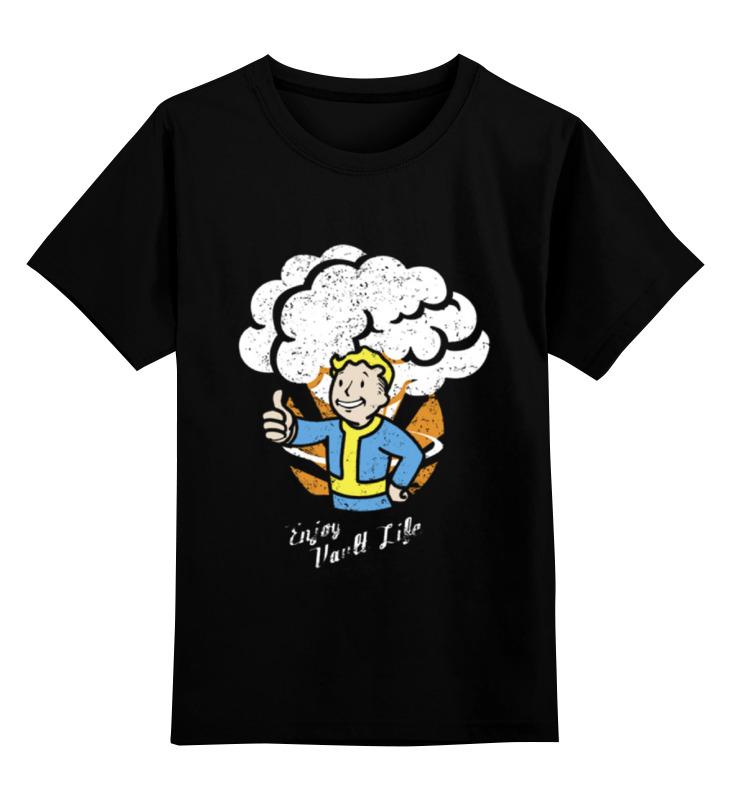 Детская футболка классическая унисекс Printio Vault boy футболка классическая printio fallout фэллаут