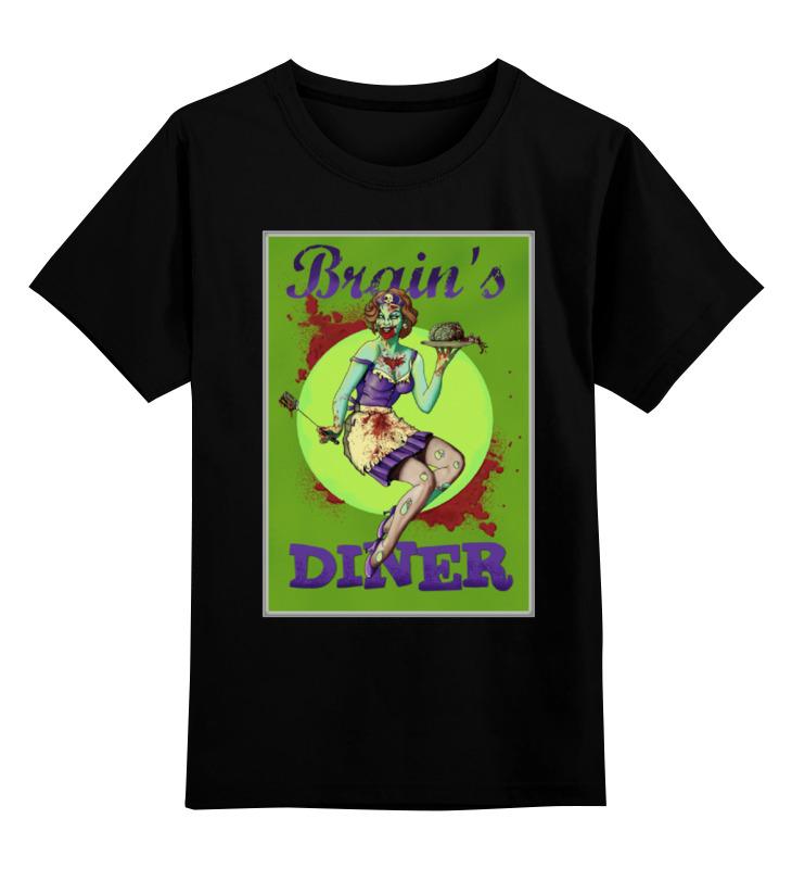 Детская футболка классическая унисекс Printio Zombie art детская футболка классическая унисекс printio zombie soccer