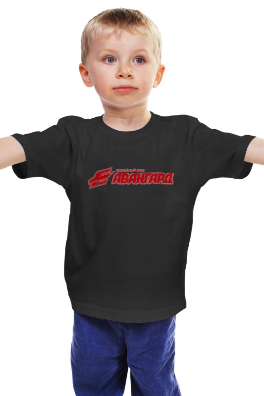Детская футболка классическая унисекс Printio Хк авангард билеты на хоккей авангард онлайн