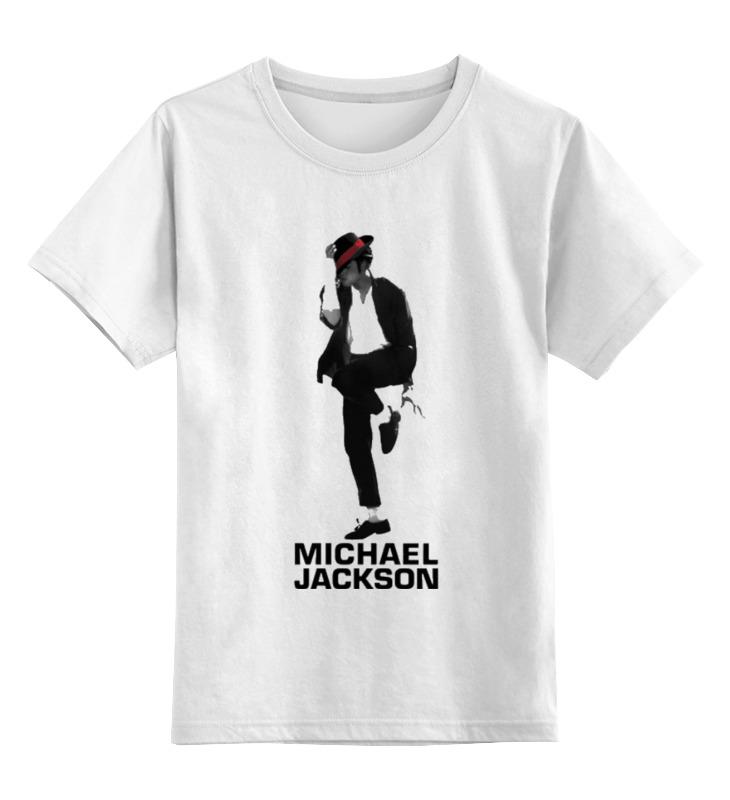 Детская футболка классическая унисекс Printio Michael jackson футболка стрэйч printio michael jackson
