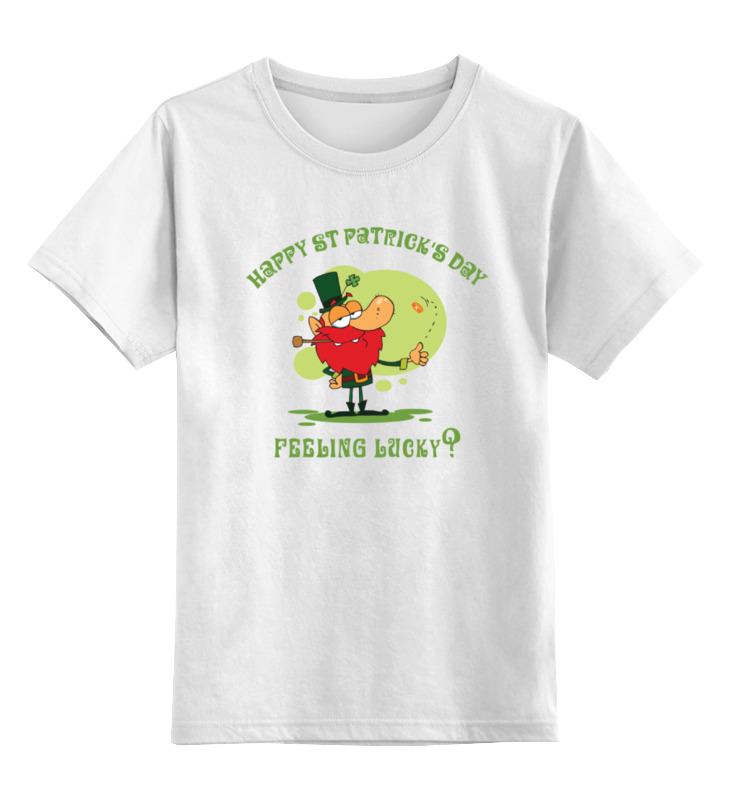 Детская футболка классическая унисекс Printio День святого патрика детская футболка классическая унисекс printio день программиста