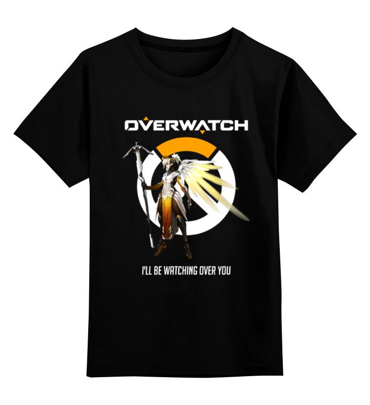 Детская футболка классическая унисекс Printio Overwatch. ангел футболка классическая printio overwatch ангел