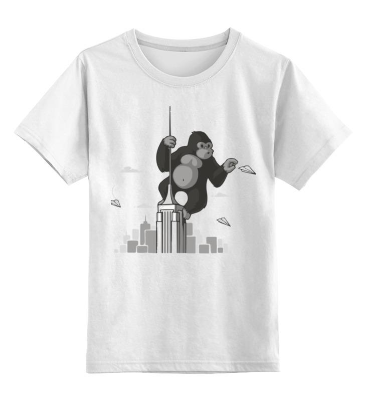 Детская футболка классическая унисекс Printio King kong детская футболка классическая унисекс printio king crimson