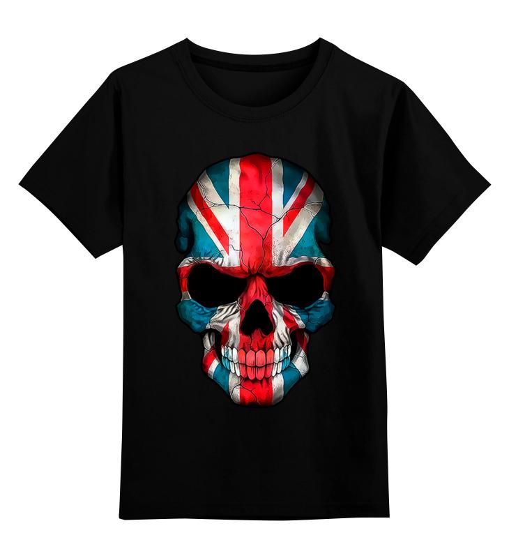 купить Детская футболка классическая унисекс Printio Skullengl по цене 1100 рублей