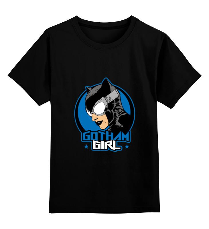 Детская футболка классическая унисекс Printio Женщина-кошка