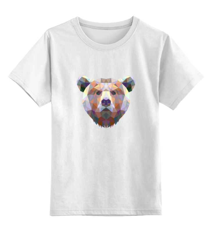 Детская футболка классическая унисекс Printio Медведь футболка print bar медведь битник ссср