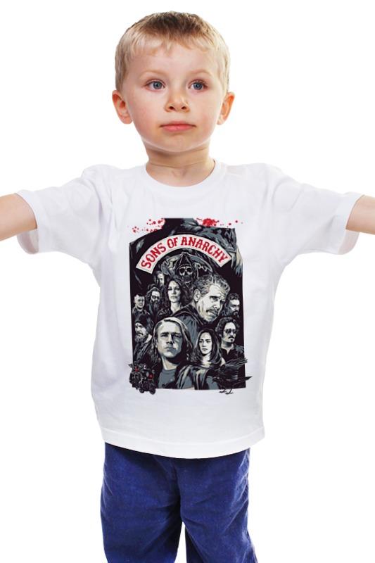Детская футболка классическая унисекс Printio Сыны анархии детская футболка классическая унисекс printio сыны анархии