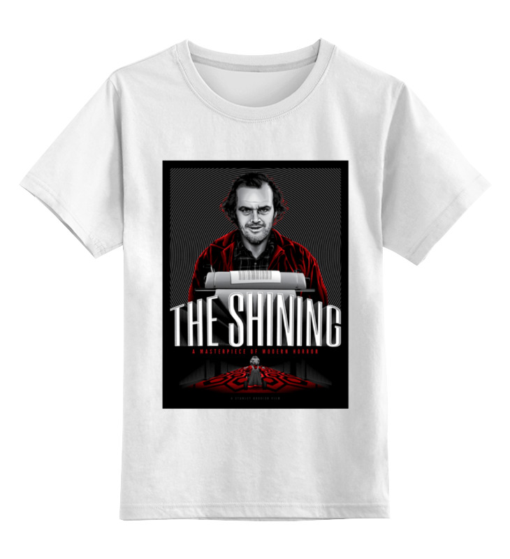 Детская футболка классическая унисекс Printio Сияние / the shining футболка классическая printio the black keys