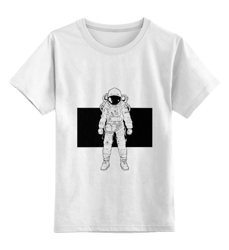 Детская футболка классическая унисекс Printio Астронавт детская футболка классическая унисекс printio обезьяна зомби астронавт