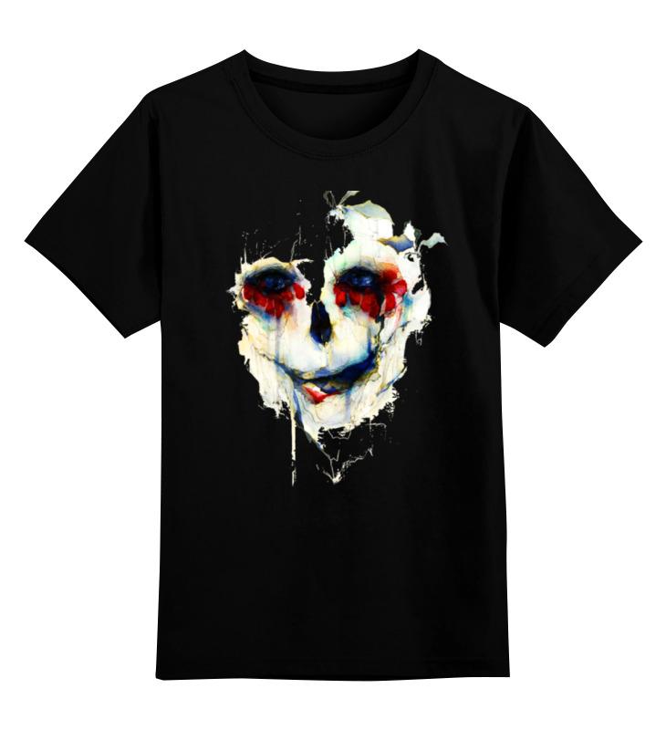 Детская футболка классическая унисекс Printio Череп (skull) детская футболка классическая унисекс printio skull style