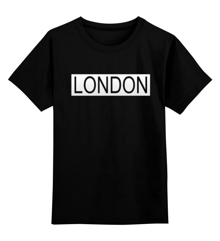 Детская футболка классическая унисекс Printio london футболка print bar london girl