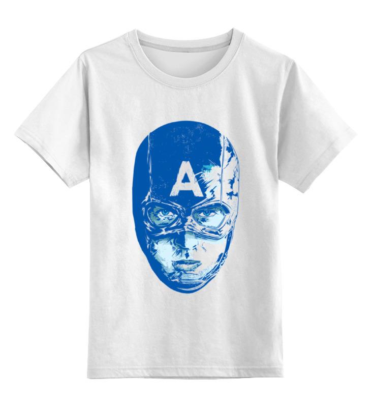 Фото Детская футболка классическая унисекс Printio Captain america marvel phunny s мягкая игрушка captain america