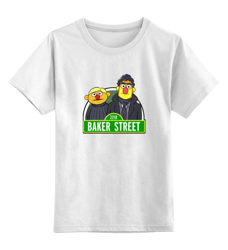 Детская футболка классическая унисекс Printio Шерлок холмс (маппеты) ник картер американский шерлок холмс