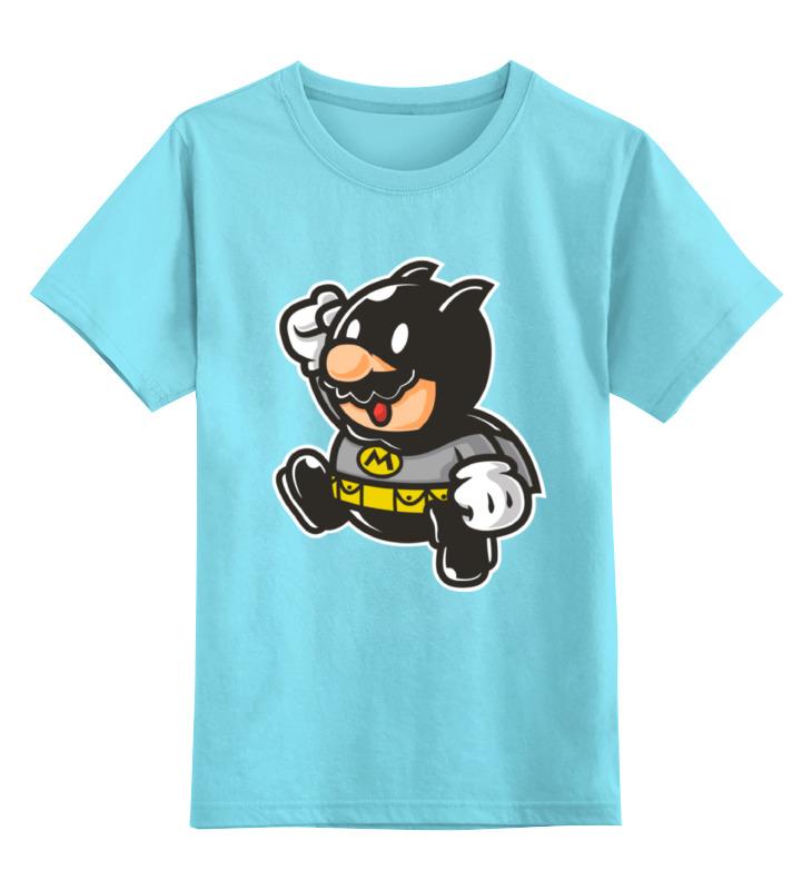 где купить Детская футболка классическая унисекс Printio Batman x mario по лучшей цене