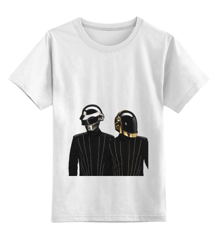 Детская футболка классическая унисекс Printio Daft punk - electoma футболка стрэйч printio daft punk electoma