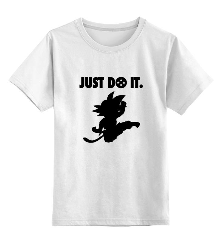 цена Детская футболка классическая унисекс Printio Гоку (супер сайян)