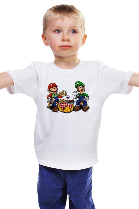 Детская футболка классическая унисекс Printio Mario&luigi детская футболка классическая унисекс printio мачете