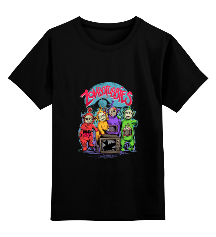 Детская футболка классическая унисекс Printio Зомбопузики лонгслив printio зомбопузики