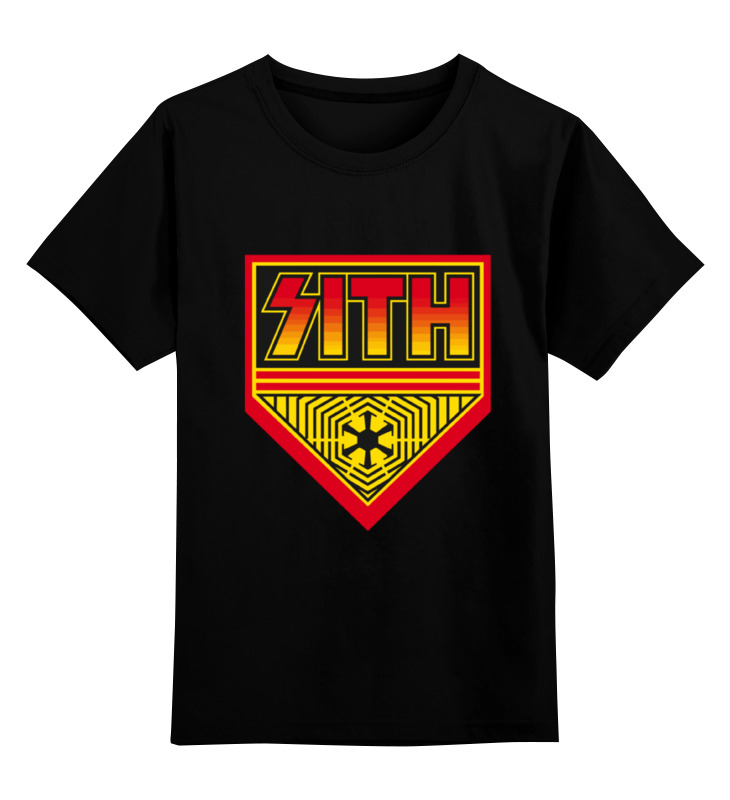 Детская футболка классическая унисекс Printio Sith (star wars) book of sith