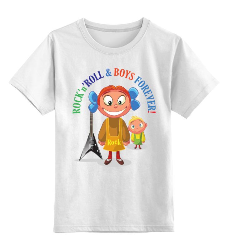 Детская футболка классическая унисекс Printio Рок-н-ролл для девочек