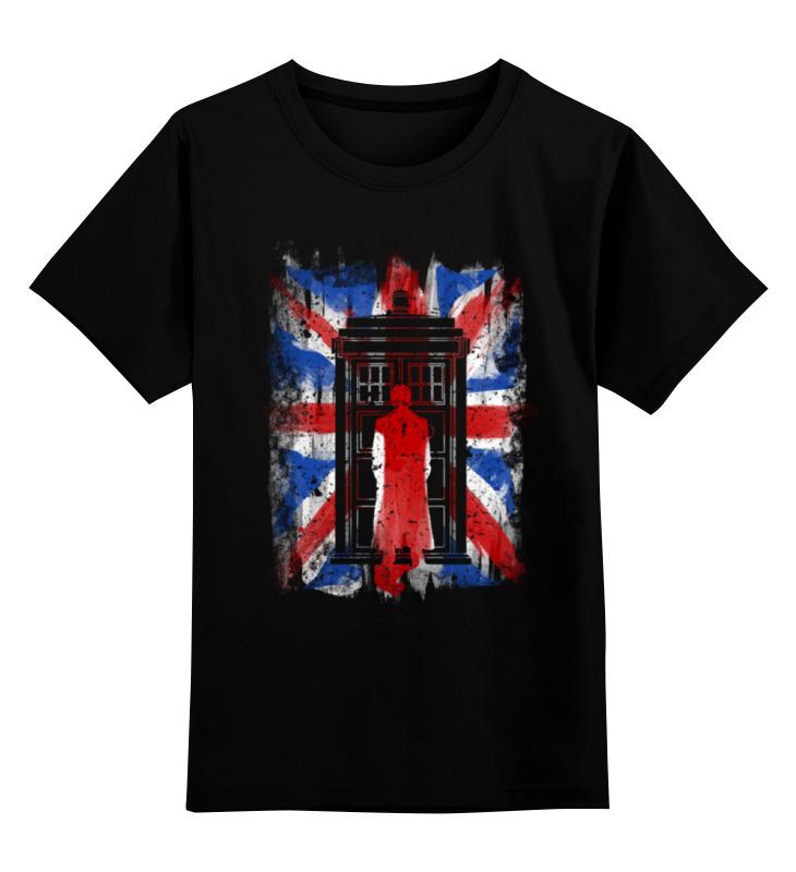 Детская футболка классическая унисекс Printio Доктор кто цена и фото