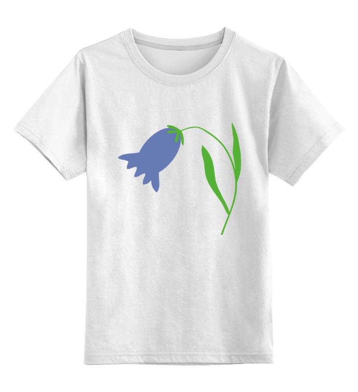 Детская футболка классическая унисекс Printio Колокольчик homereligion колокольчик белый