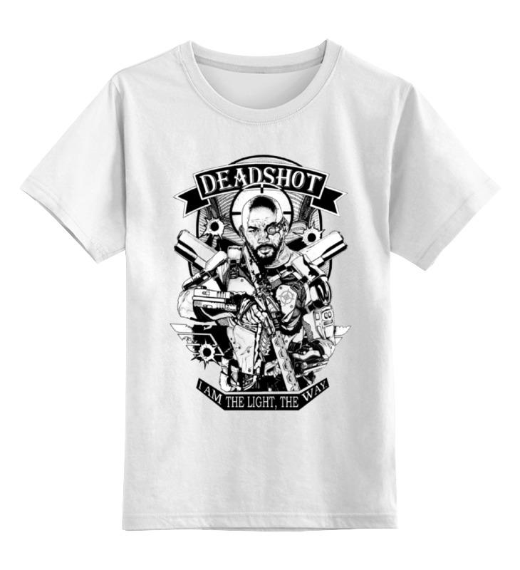 Детская футболка классическая унисекс Printio Deadshot deadshot bulletproof