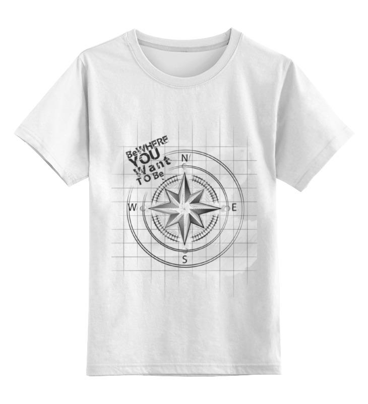 Детская футболка классическая унисекс Printio Anget-art цена и фото