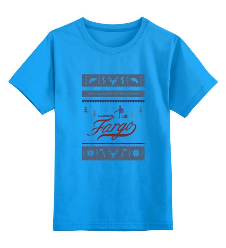 Детская футболка классическая унисекс Printio Fargo (фарго) майка классическая printio fargo фарго