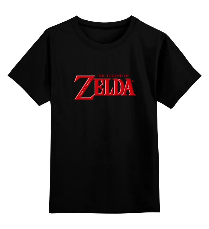 Детская футболка классическая унисекс Printio The legend of zelda