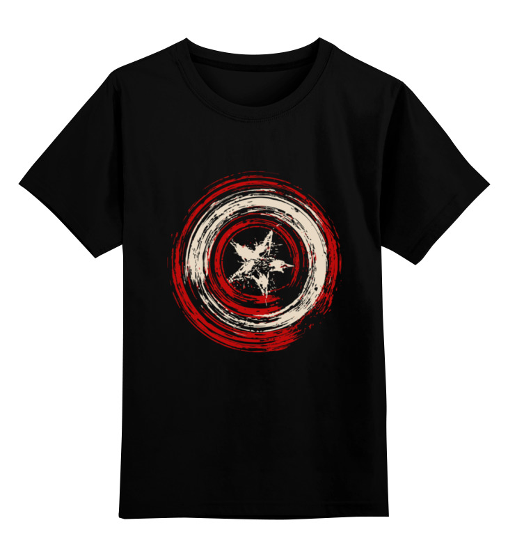 Детская футболка классическая унисекс Printio Captain shield plasma torch shield spring spacer guide electrode nozzle tip consumables for s45 47pcs pr0110 pd0116 08 pc0116 cv0010