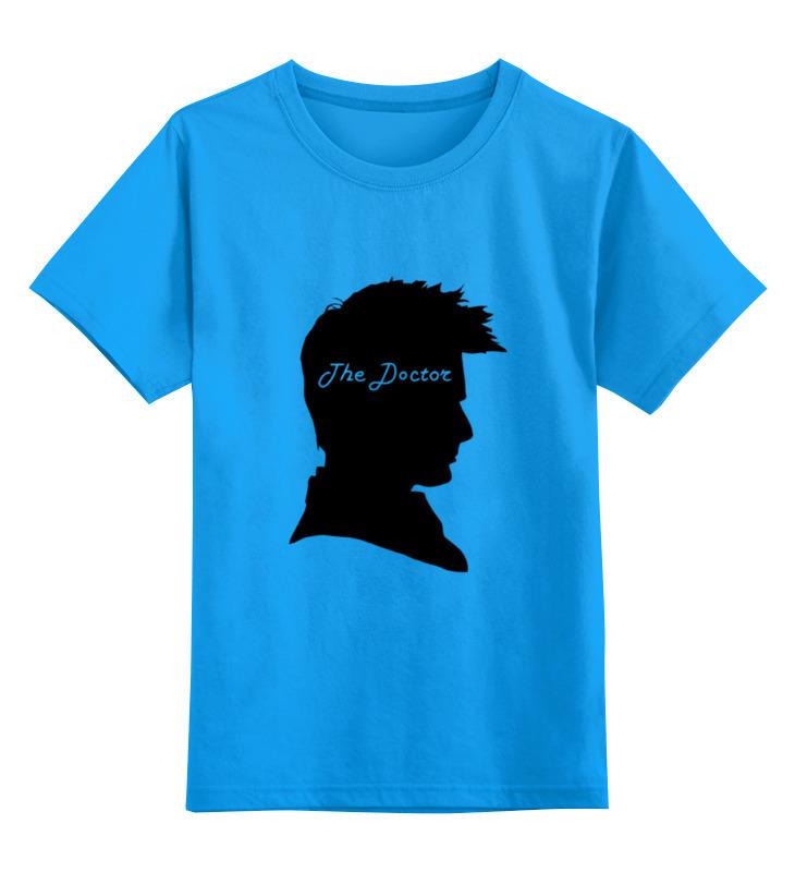 Детская футболка классическая унисекс Printio Доктор кто (doctor who) мессингем саймон доктор кто 9 ловушка доктора сериал doctor who