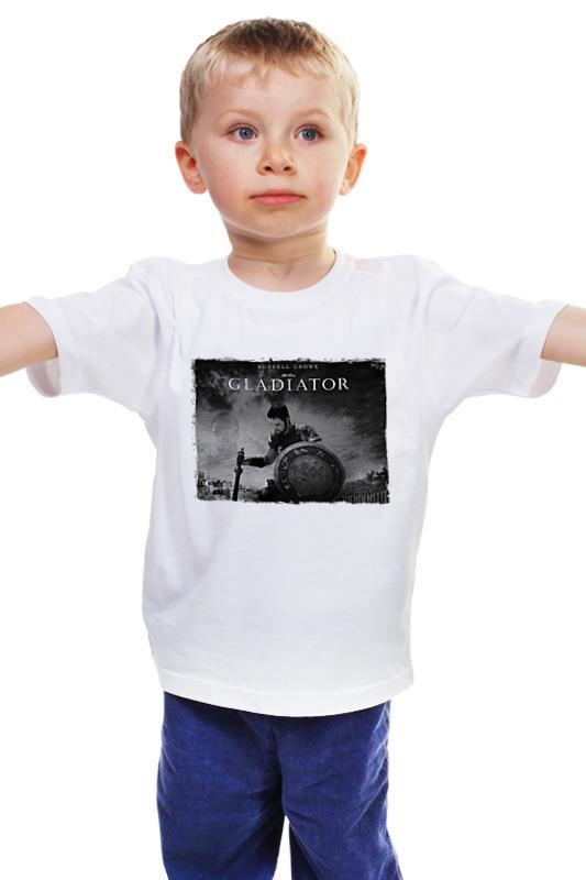 Детская футболка классическая унисекс Printio Гладиатор плм гладиатор в москве