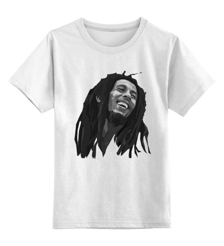 Детская футболка классическая унисекс Printio Боб марли (bob marley) детская футболка классическая унисекс printio боб марлей bob marley