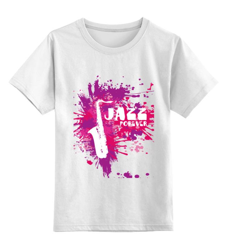 Детская футболка классическая унисекс Printio Jazz forever