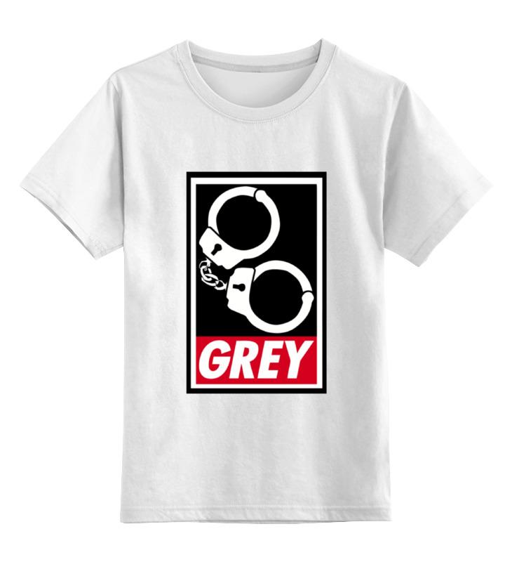 Детская футболка классическая унисекс Printio 50 оттенков серого (fifty shades of grey) fifty shades of grey you are mine наручники из коллекции 50 оттенков серого
