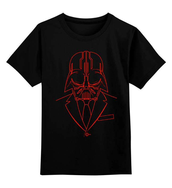 Детская футболка классическая унисекс Printio Darth vader валентин катаев повелитель железа