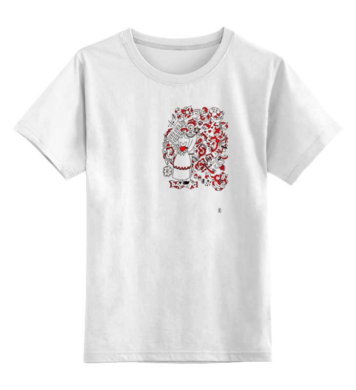 Детская футболка классическая унисекс Printio Свадьба в стиле марка шагала чулки женские свадьба