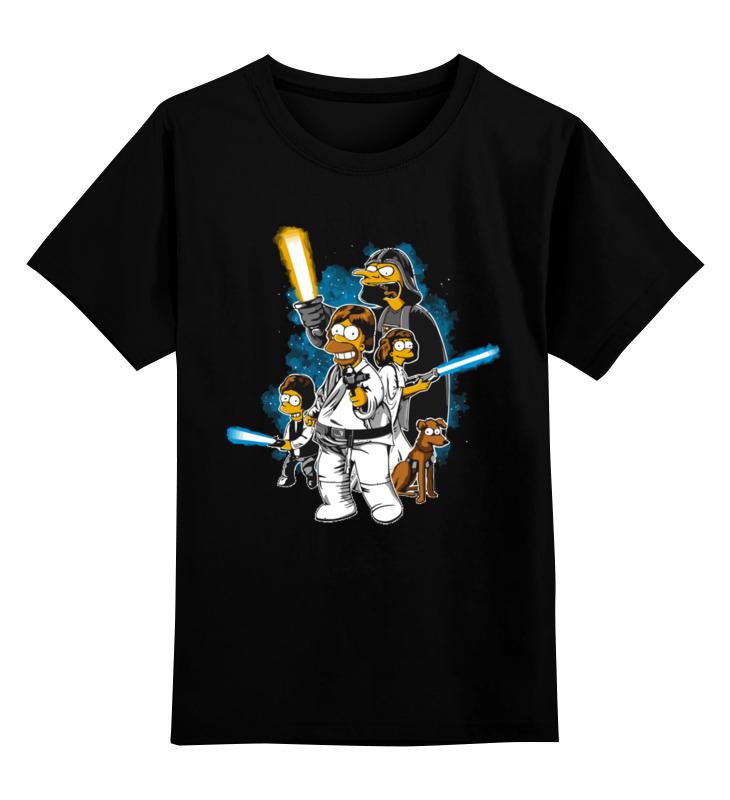 Детская футболка классическая унисекс Printio Симпсоны детская футболка классическая унисекс printio классическая футболка dota 2