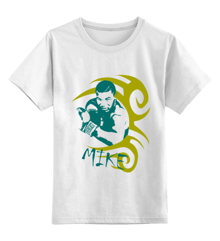 Детская футболка классическая унисекс Printio железный майк demix майка для бокса детская demix