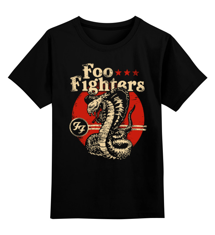 Детская футболка классическая унисекс Printio Foo fighters футболка с полной запечаткой мужская printio foo fighters