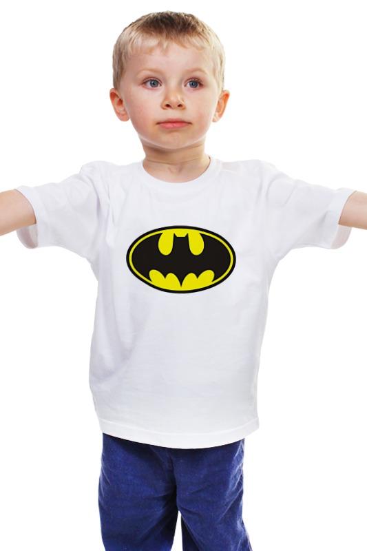 Детская футболка классическая унисекс Printio Бэтман детская футболка классическая унисекс printio комиксы